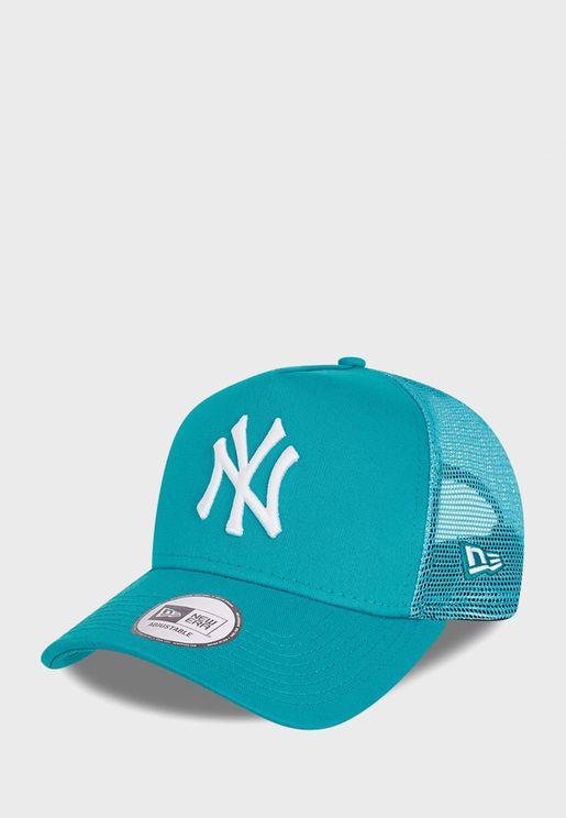 Youth 9Forty New York Yankees Tonal Mesh Trucker Cap