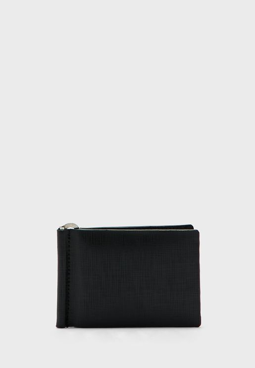 Genuine Spanish Leather Wallet With Money Clipper