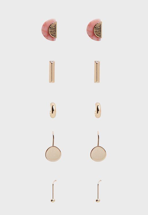 Multipack Eiffel Earrings