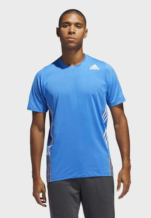 FreeLift 3 Stripe T-Shirt