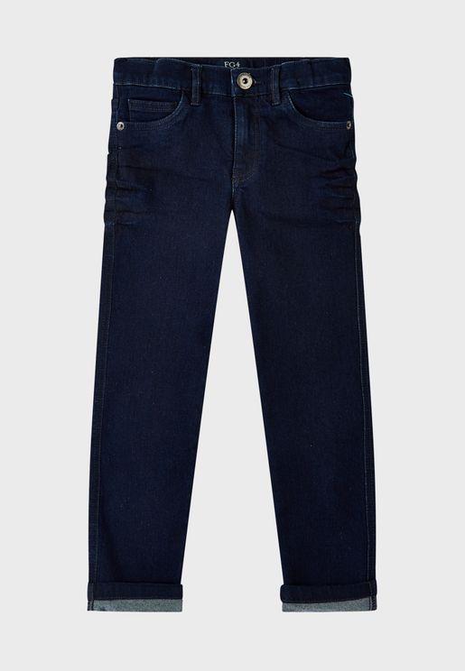 Little Harvey Dark Wash Jeans