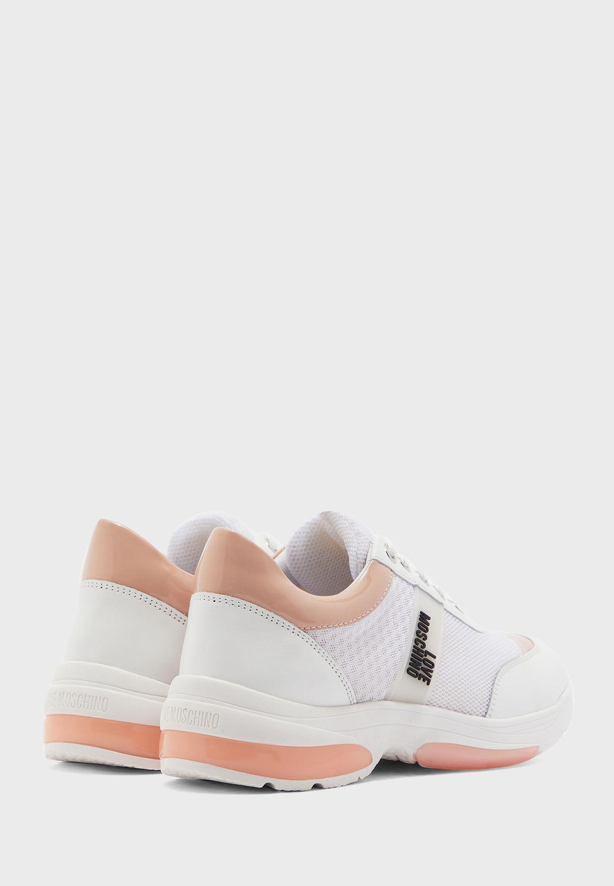Mesh Detail Sneaker - Fantasy