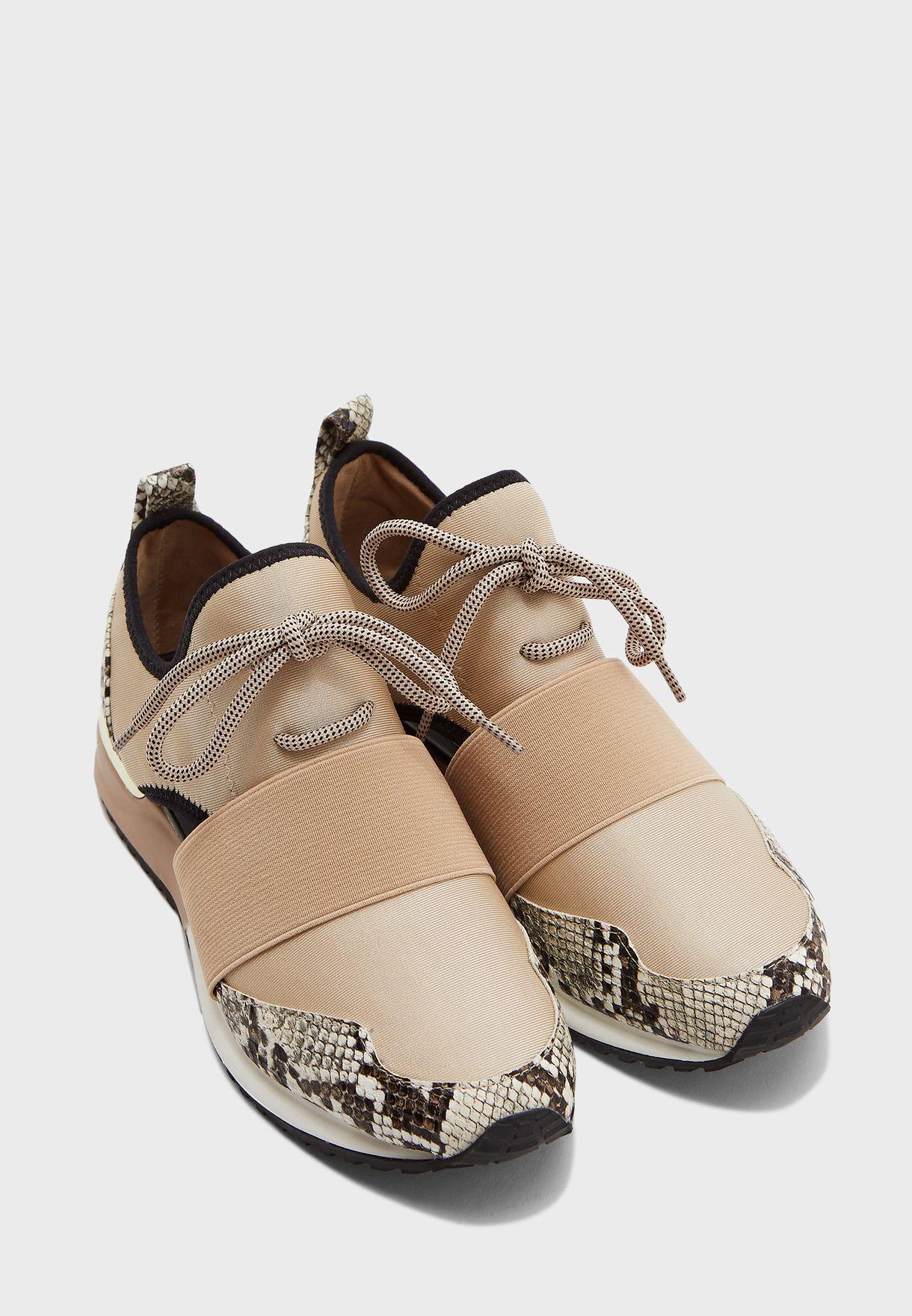 Dwiedia Low-Top Sneaker - Natural