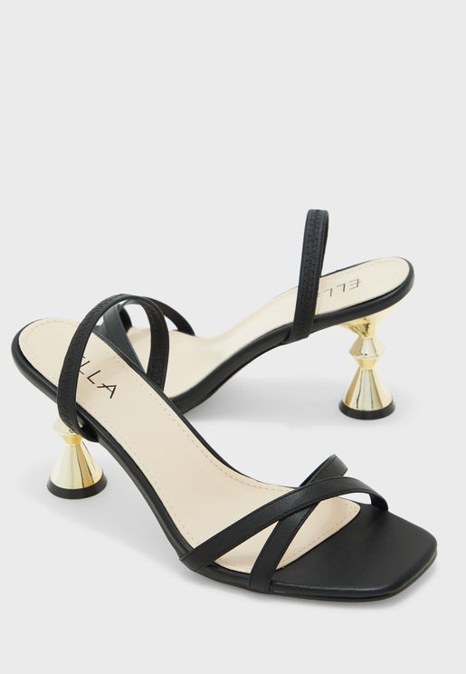 Feature Heel Sandals