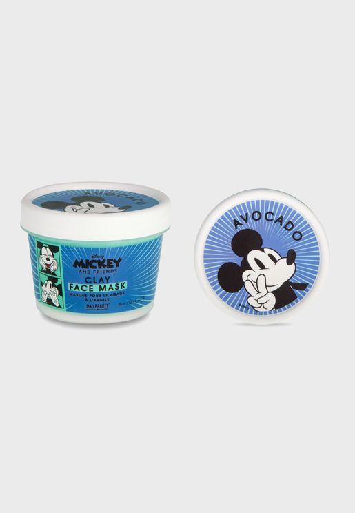 M&F Clay Mask  - Mickey Avocado 8Pc