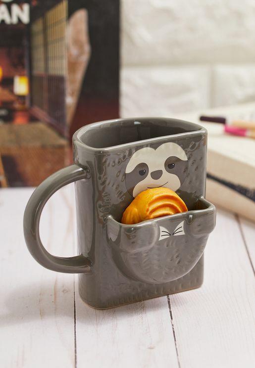 Sloth Cookie Holder Mug
