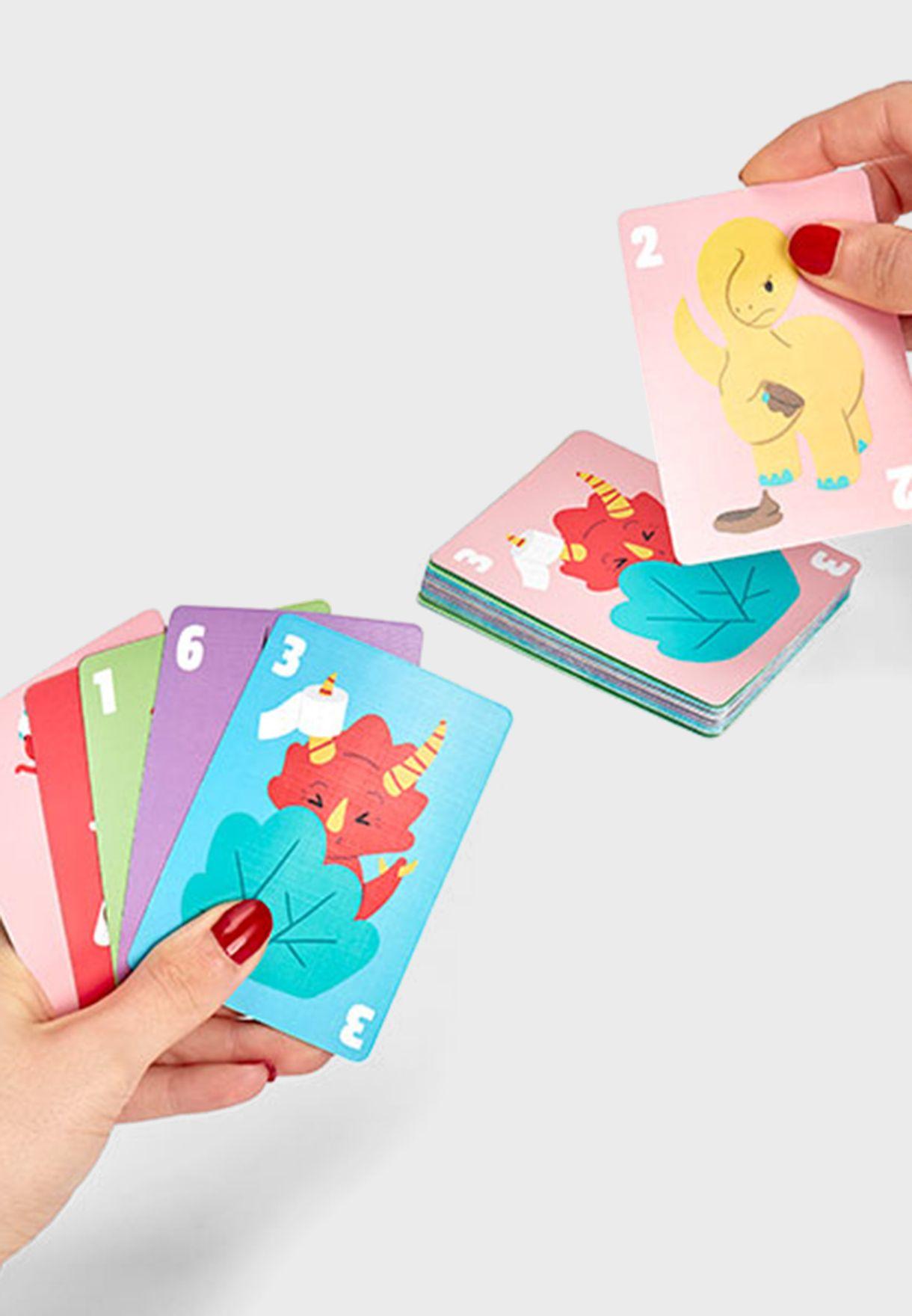 لعبة بطاقات الديناصورات