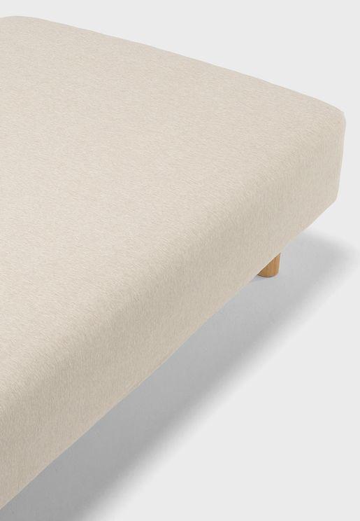 غطاء سرير قطن جيرسي 160x200x18-28 سم
