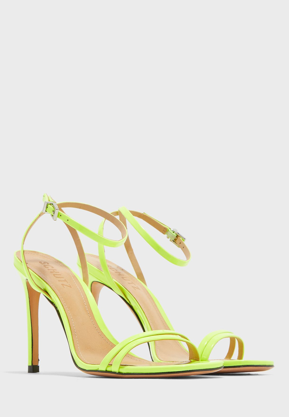 Strappy Mid Heel Sandal
