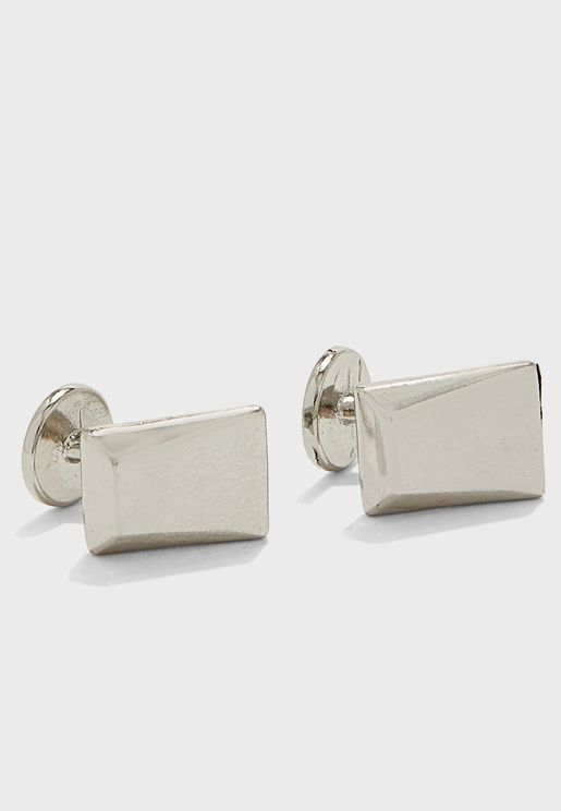 Faceted Cufflinks
