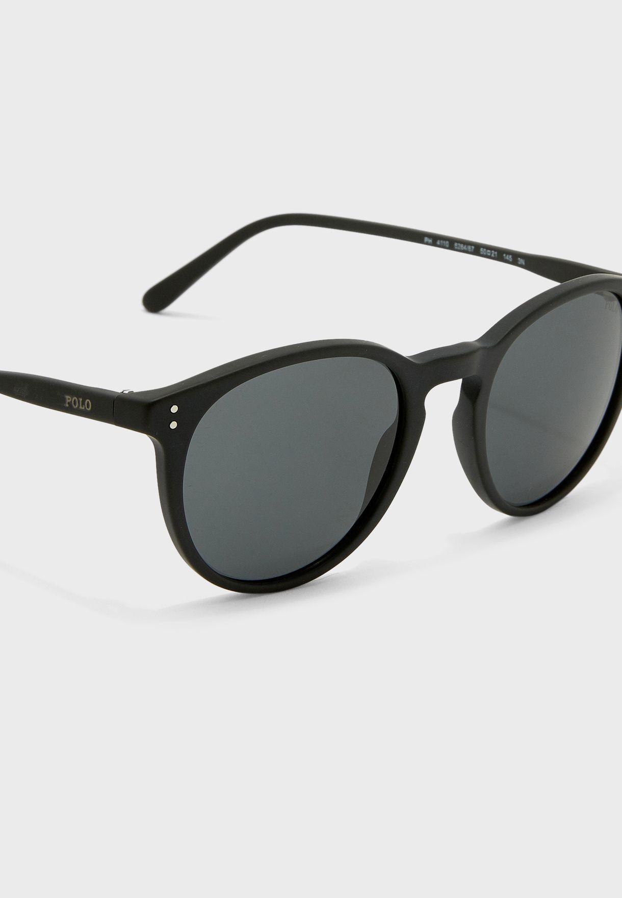 0Ph4110 Oval Shape Sunglasses