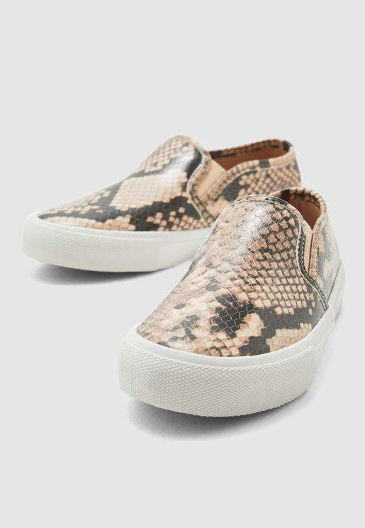 Youth Broarith Slip On