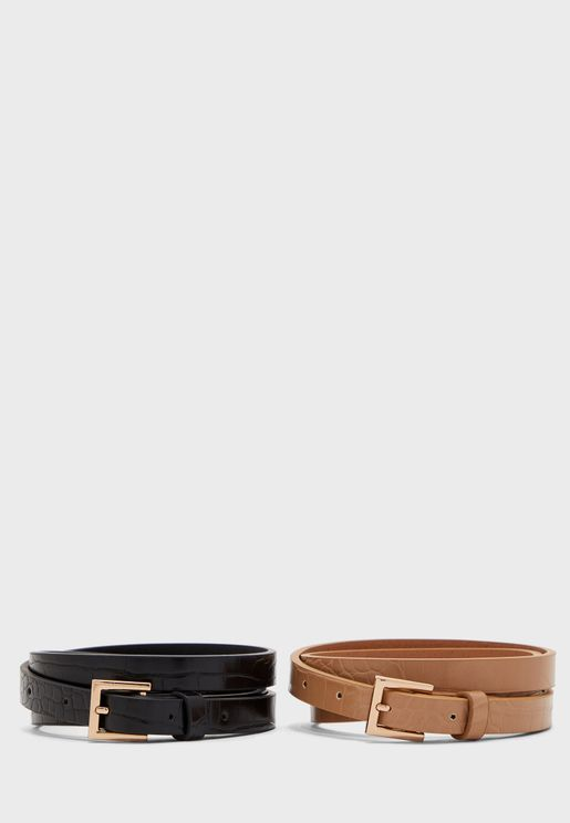 Multipack Allocated Hole Belt
