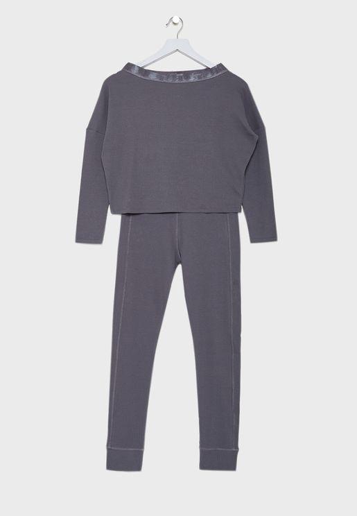 Kids Knitted Pyjama Set