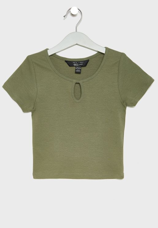 Teen Key Hole T-Shirt