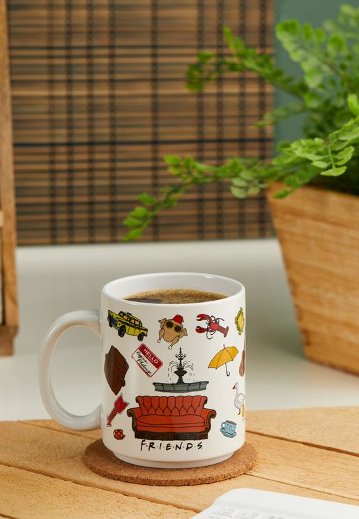 Friends Illustrations Mug