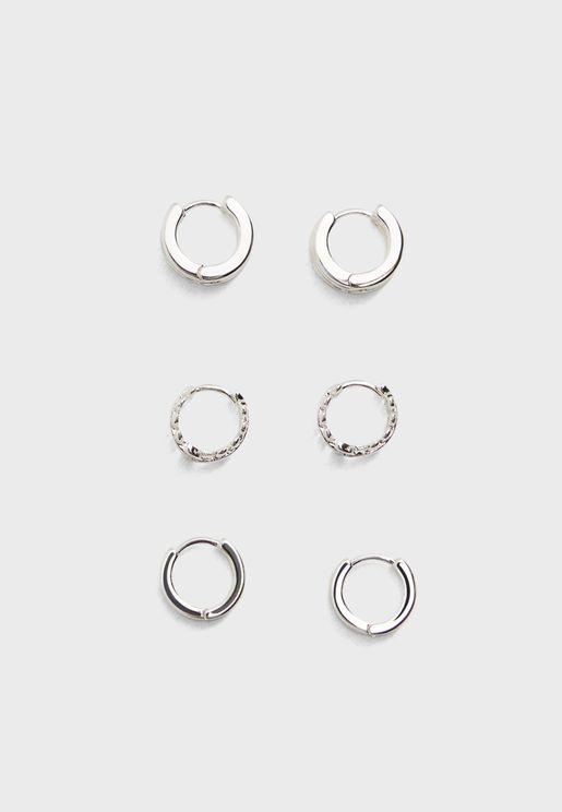 3 Set Earrings