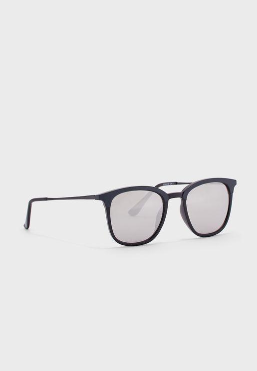 Maverick Retro Square Sunglasses
