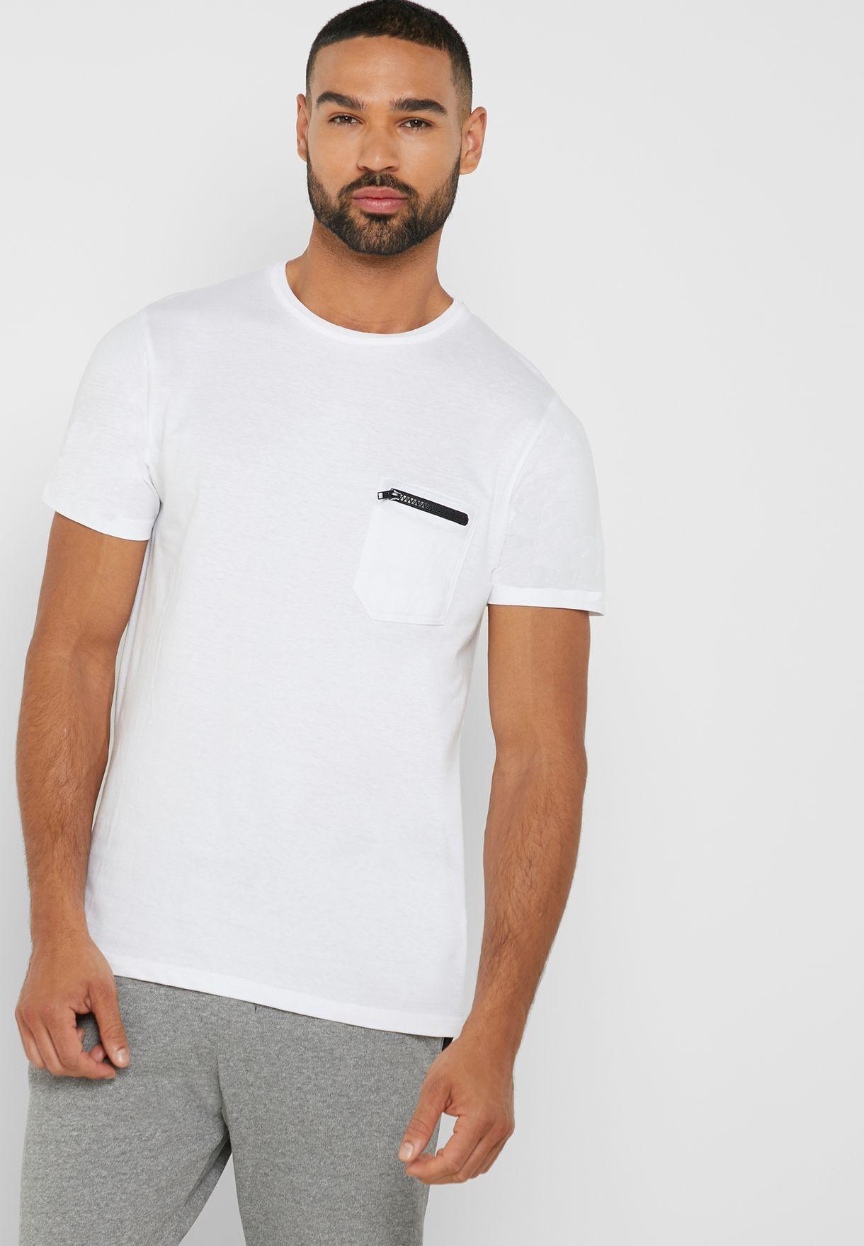 Pocket Detail T Shirt