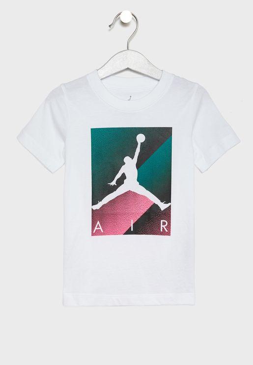 Kids Jordan Box Spray T-Shirt