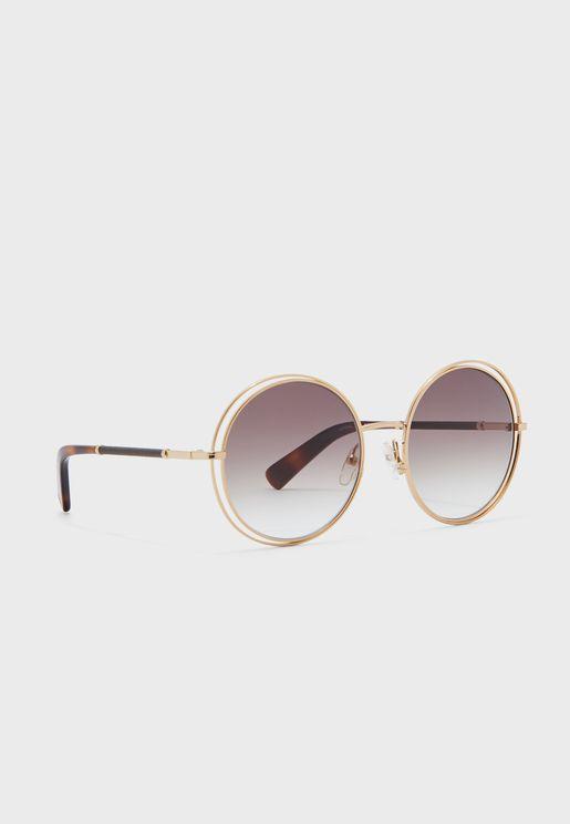 Lo105Sl Oval Sunglasses