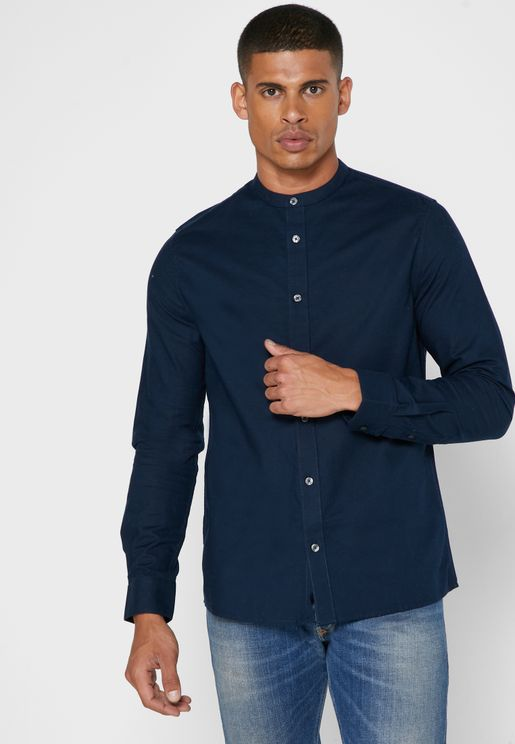 Grandad Regular Fit Shirt