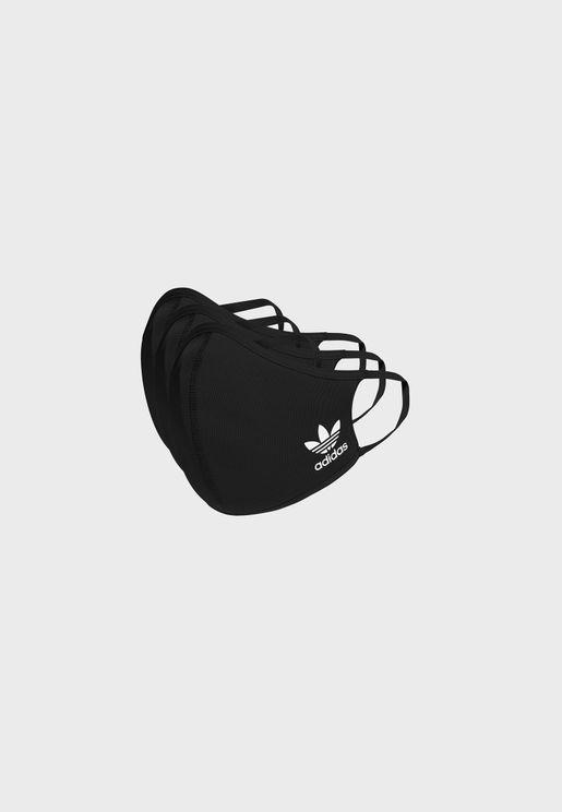 3 Pack Medium Face Mask