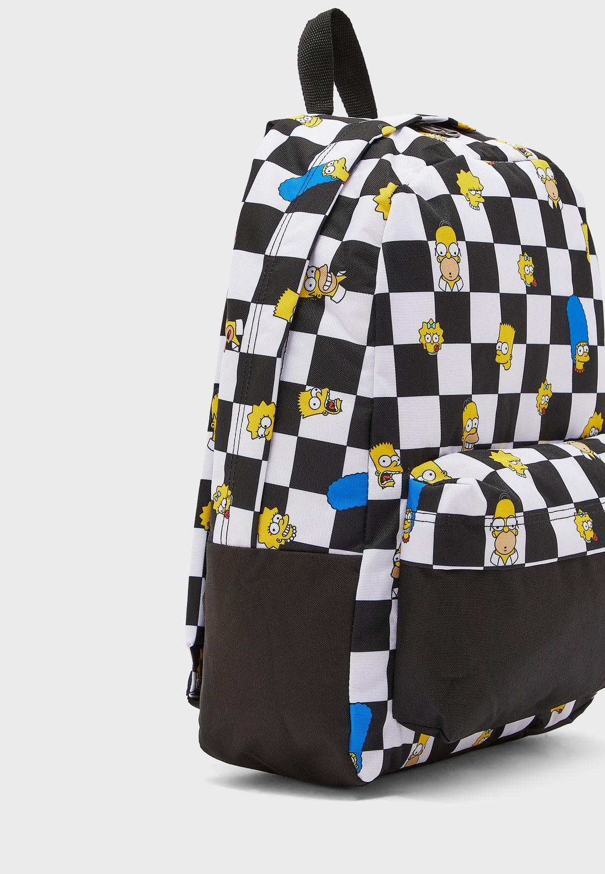 Simpsons Old Skool III Backpack