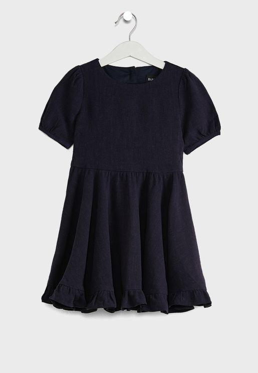 Little Allira Frill Dress