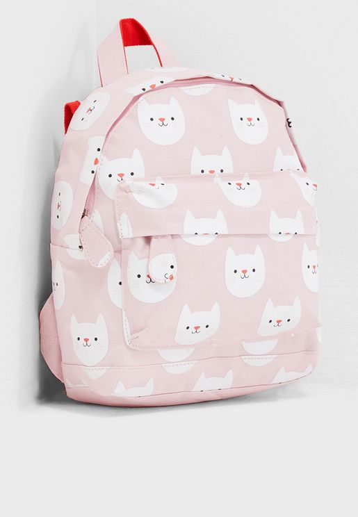 Kids Cookie The Cat Mini Backpack