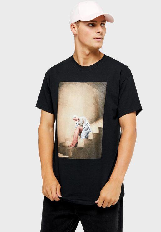 Ariana Grande Crew Neck T-Shirt