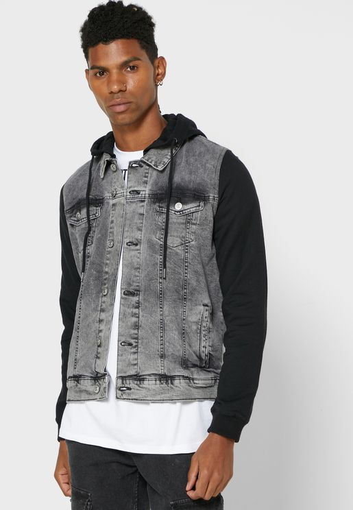 Hooded Denim Jackets