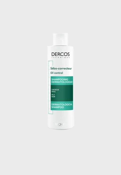 شامبو ديركوس للتحكم في زيوت الشعر - 200 مل
