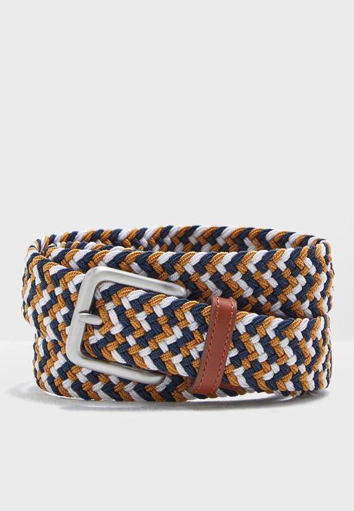 حزام كاجوال محبوك