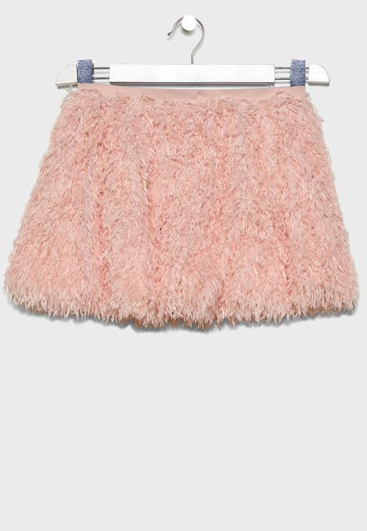 Kids Feather Skirt