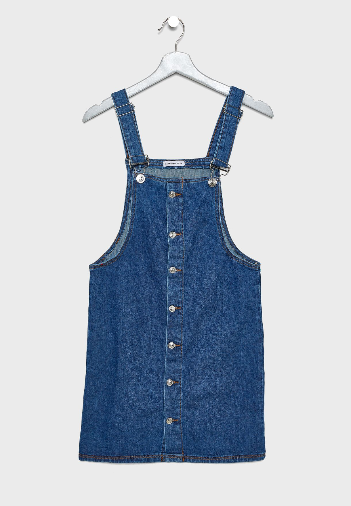 Kids Button Down Playsuit