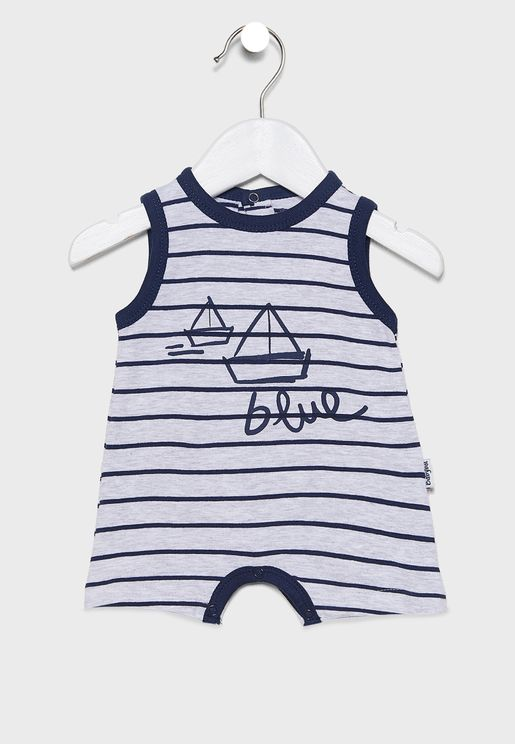 Infant Sleeve Less Romper