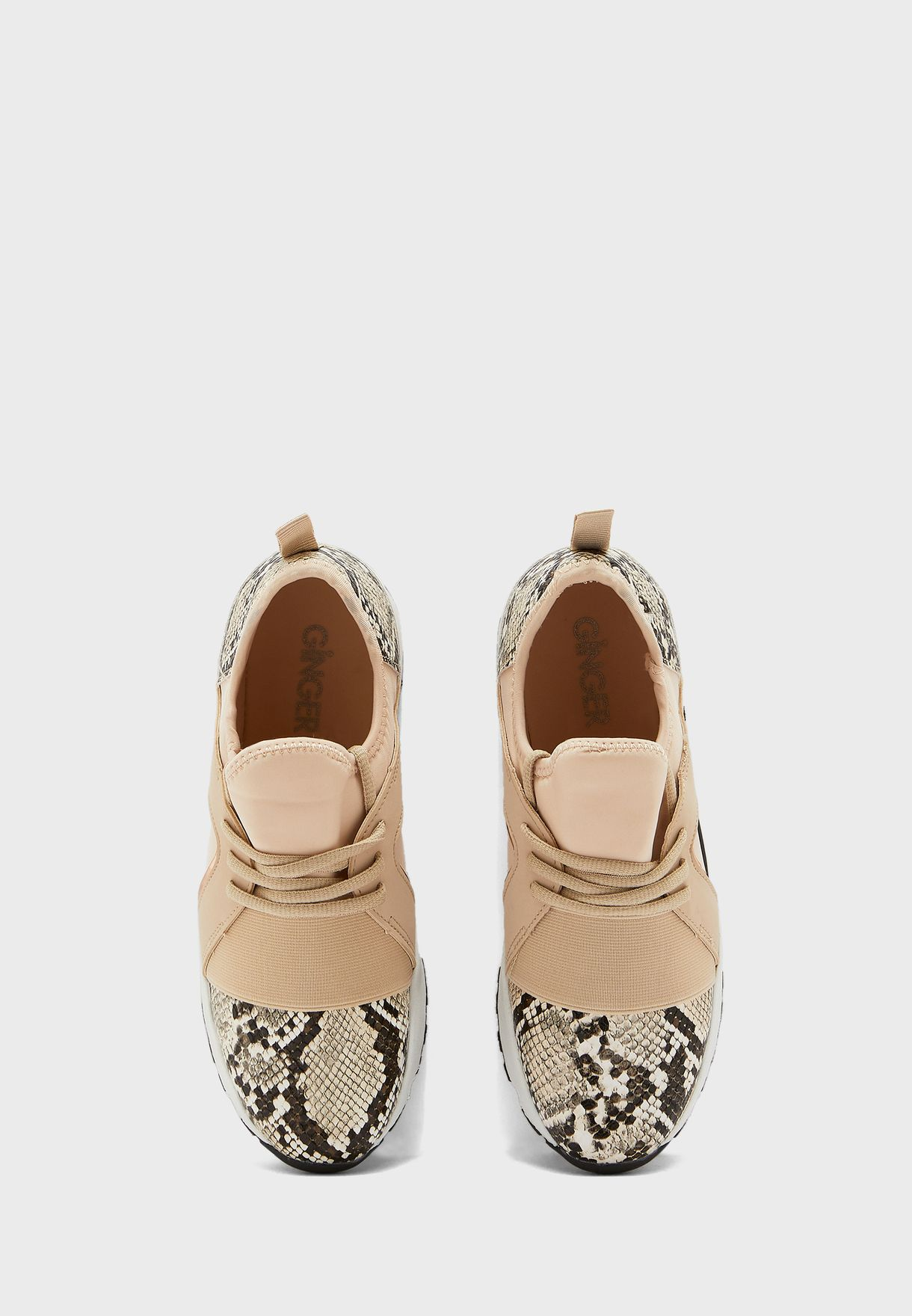 Mix Material Sneakers