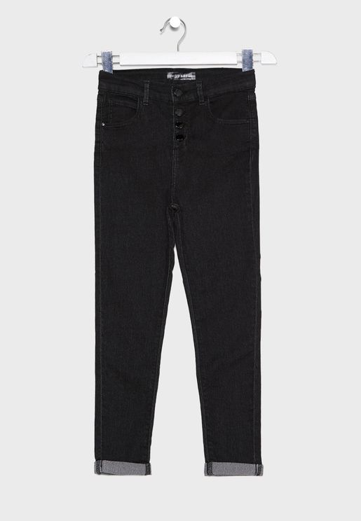 Kids Light Wash Jeans