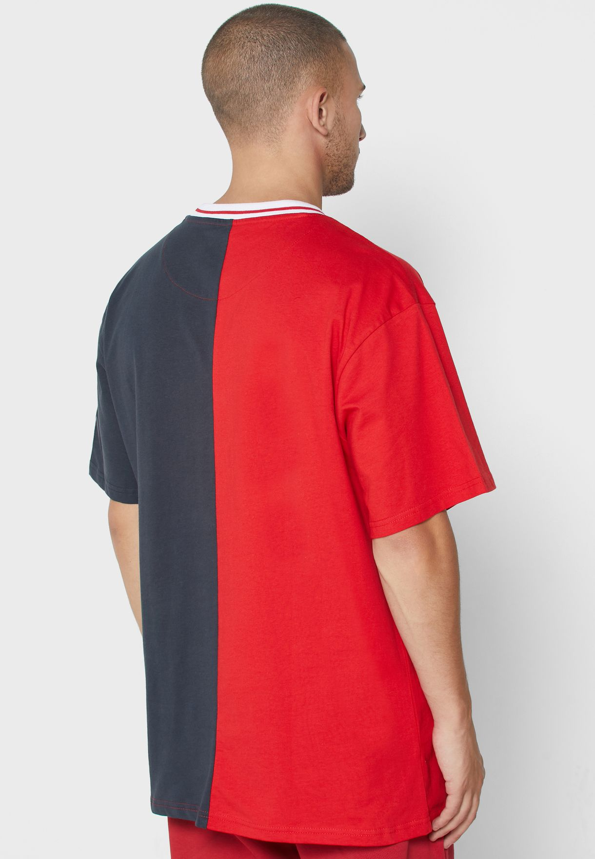 College Colour Block T-Shirt