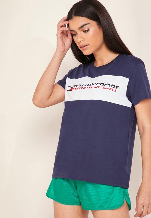 Panel Logo T-Shirt