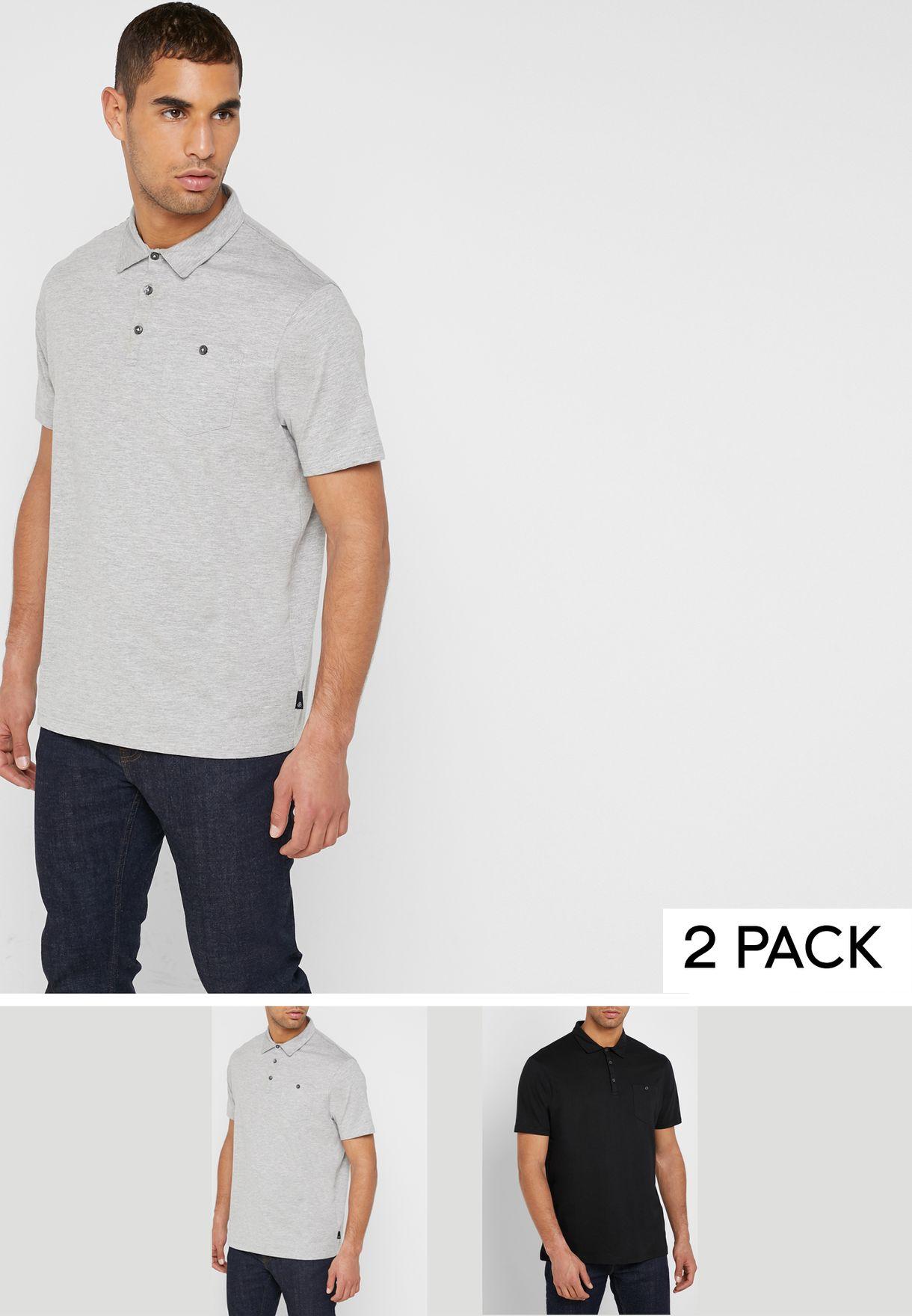 2 Packs Essential Polo