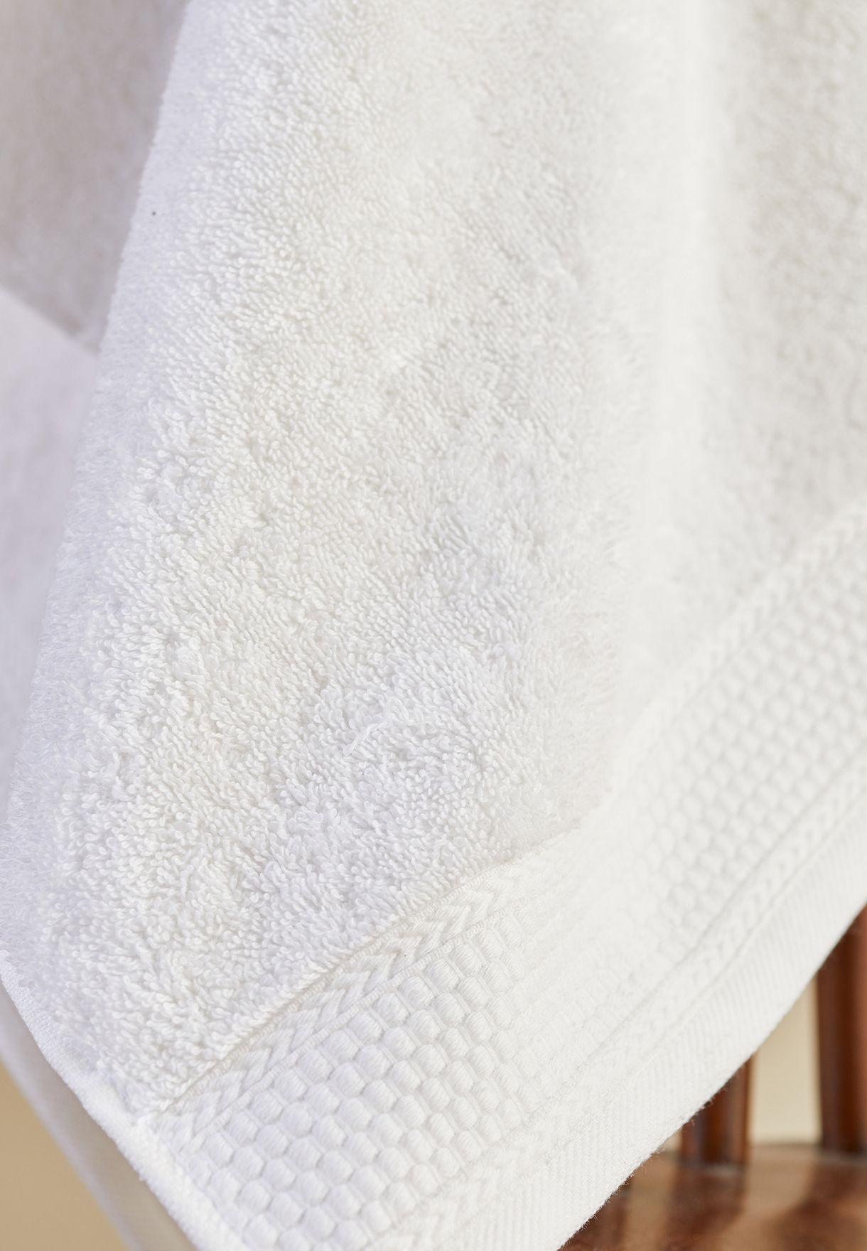 White Bath Towel 60 X 110cm