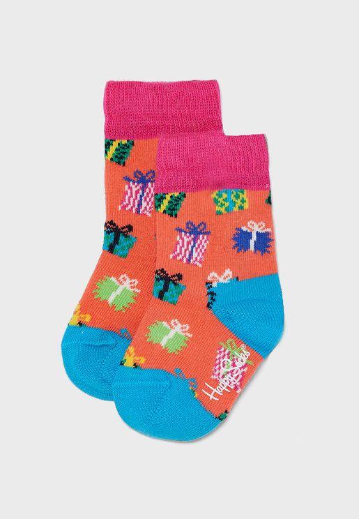 Kids Graphic Socks