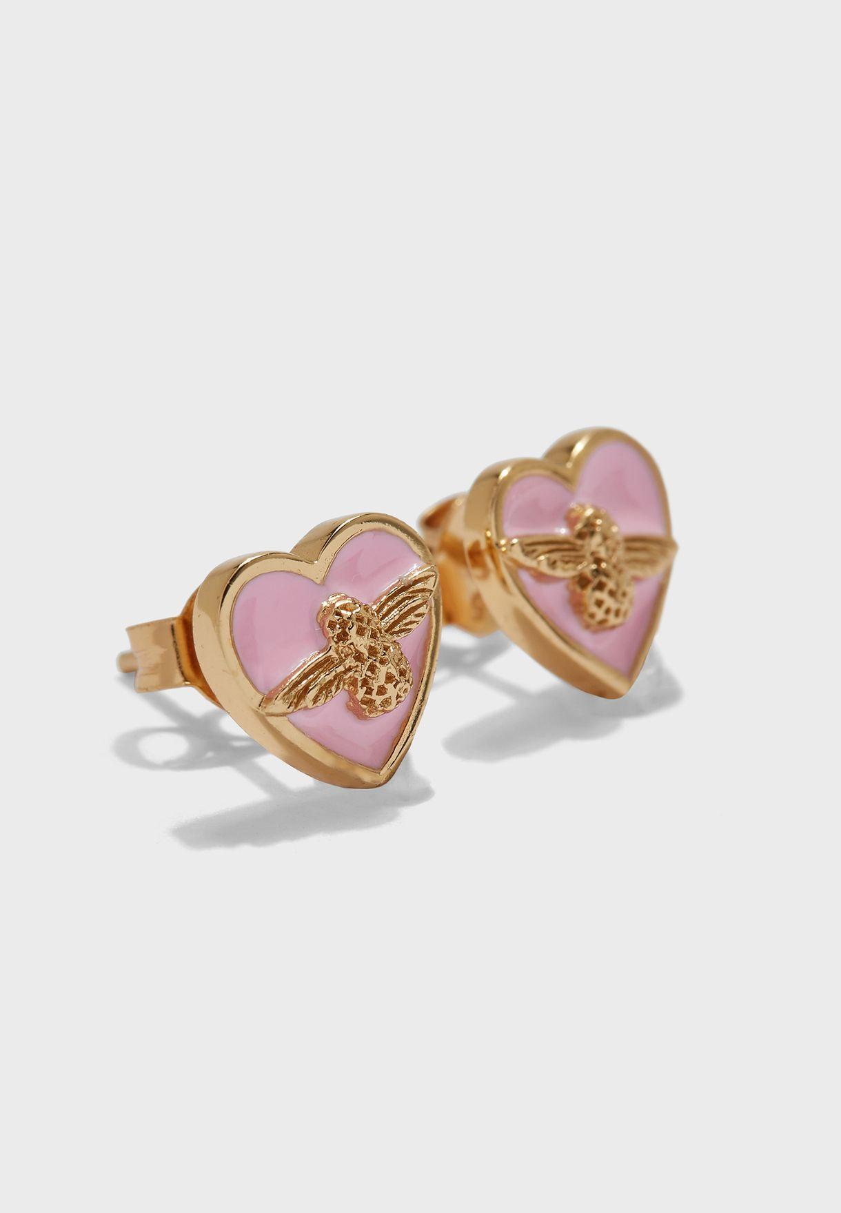 Celestial Swirl Stud Earrings