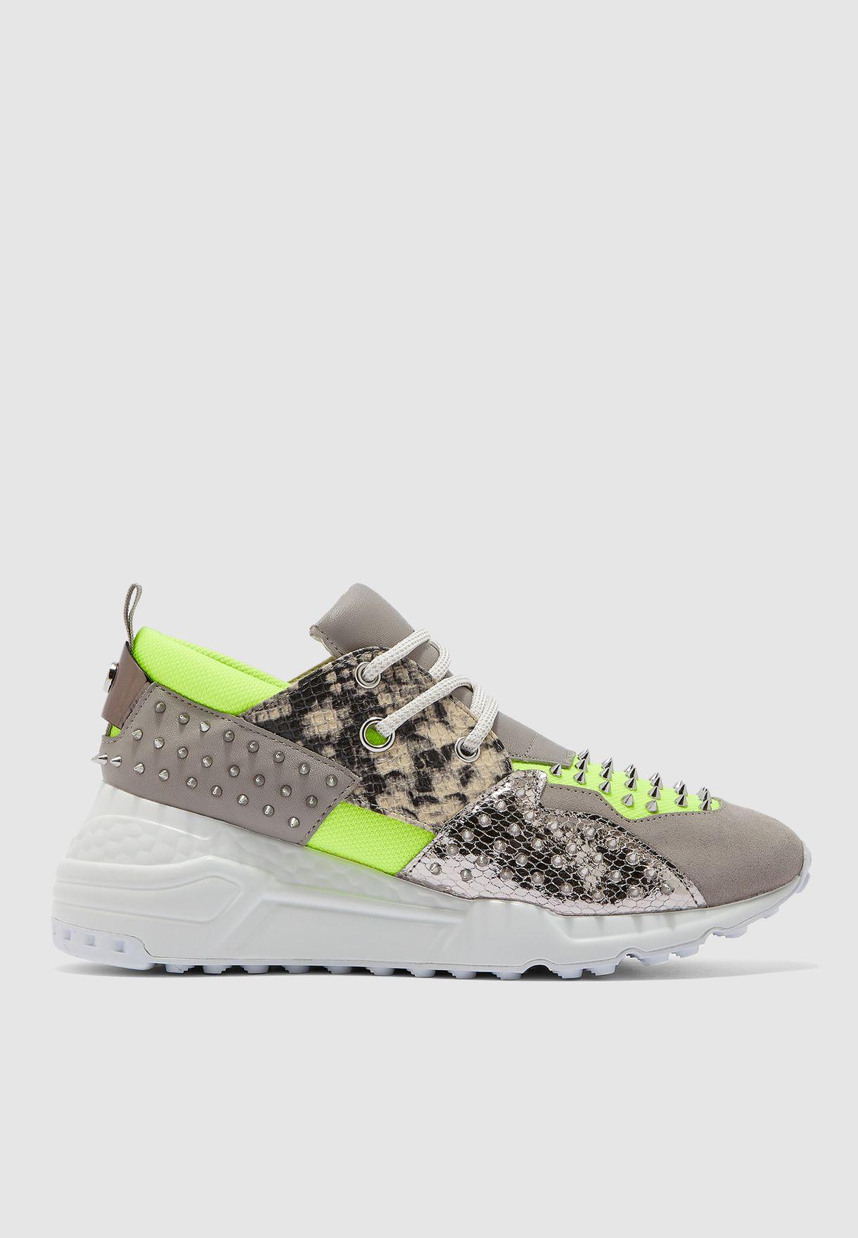 1e6075d642c Shop Steve Madden multicolor Cliff Low-Top Sneaker - Yellow Cliff-S ...