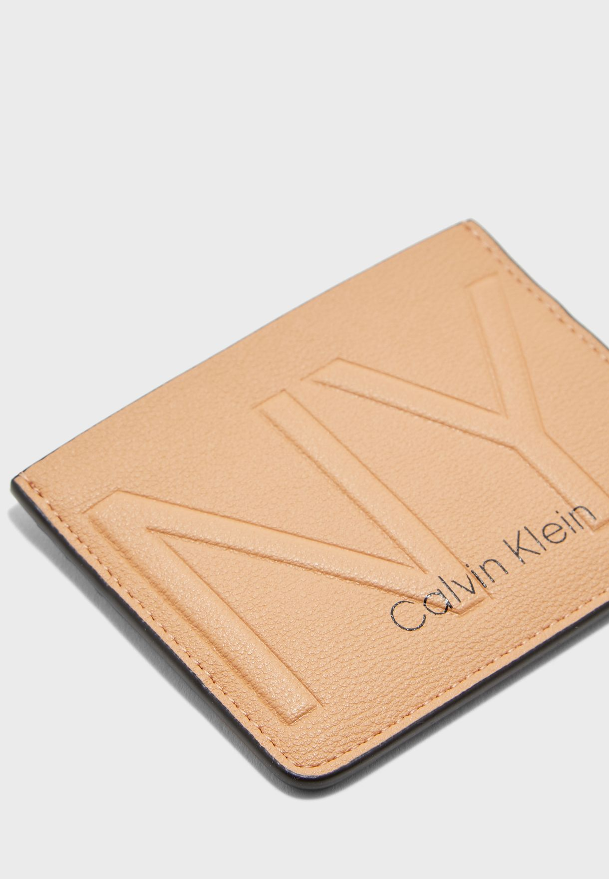 Logo Zip Around Card Holder