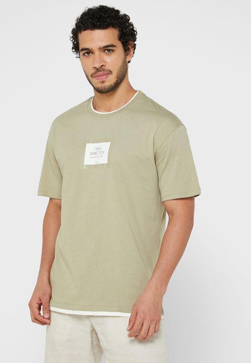 New Direction Crew Neck T-Shirt