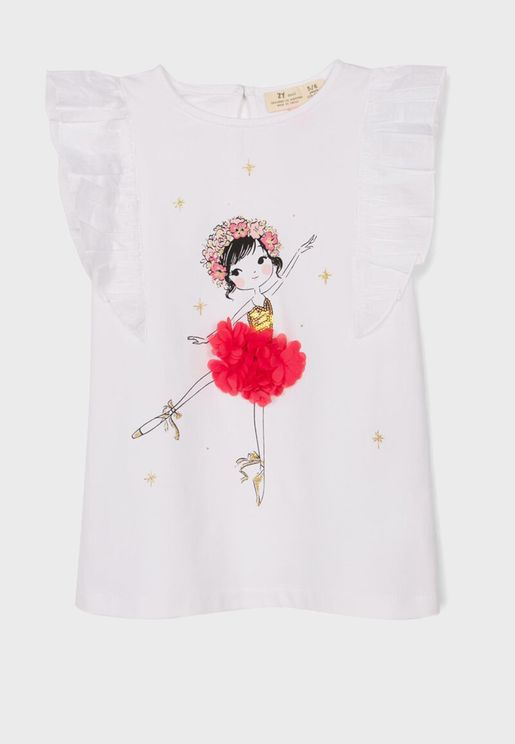 Kids Ballerina Top