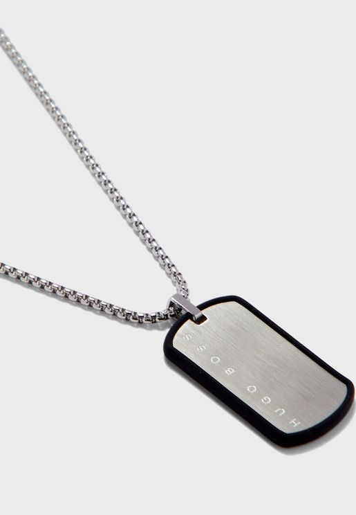 Tag Pendant Necklace